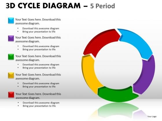 Ppt Slides 5 Arrows Cycle Diagrams PowerPoint Templates Ppt Slides