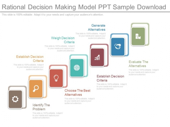 Rational Decision Making Model Ppt Sample Download - PowerPoint