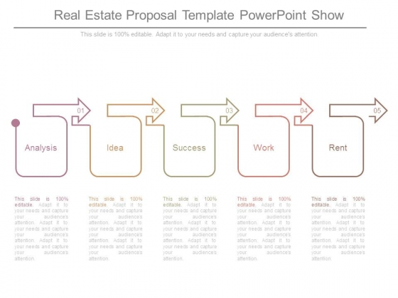 Real Estate Proposal Template Powerpoint Show - PowerPoint Templates - real estate proposal template