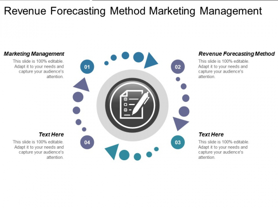 Revenue Forecasting Method Marketing Management Ppt PowerPoint