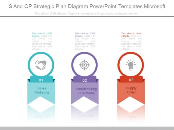 S And Op Strategic Plan Diagram Powerpoint Templates Microsoft