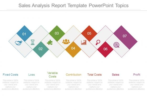 Sales Analysis Report Template Powerpoint Topics - PowerPoint Templates