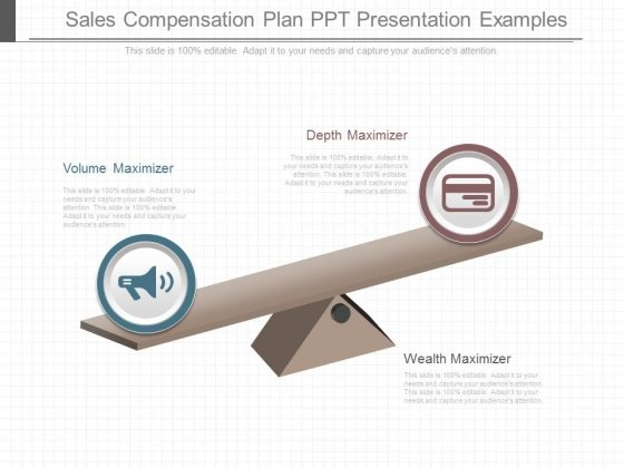Sales Compensation Plan Ppt Presentation Examples - PowerPoint Templates