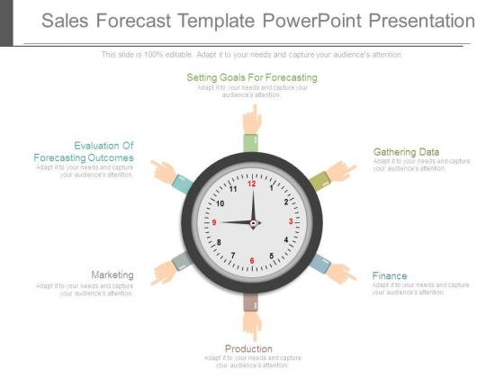 Sales Forecast Template Powerpoint Presentation - PowerPoint Templates