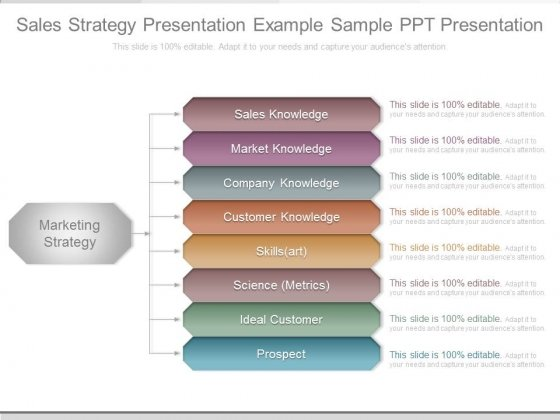 Sales Strategy Presentation Example Sample Ppt Presentation - product sales presentation