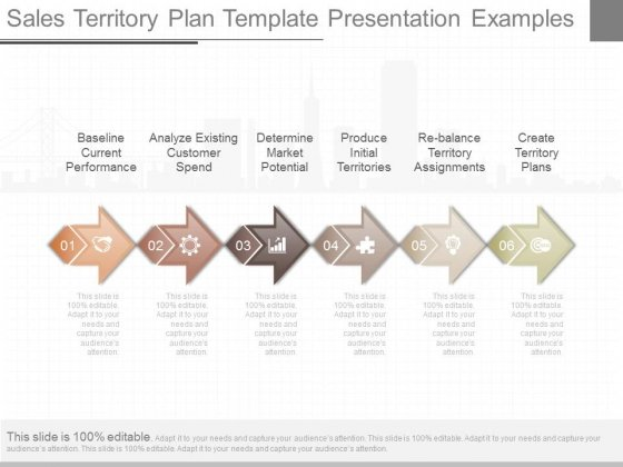 Sales Territory Plan Template Presentation Examples - PowerPoint - sales plan template