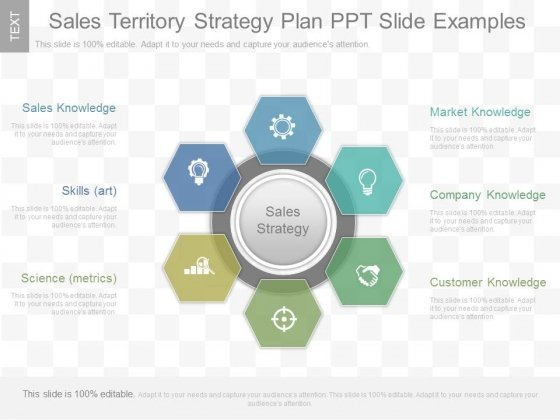 Sales Territory Strategy Plan Ppt Slide Examples - PowerPoint - sales plan