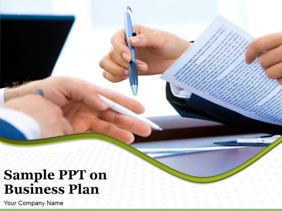 Sample Ppt On Business Plan Ppt PowerPoint Presentation Complete