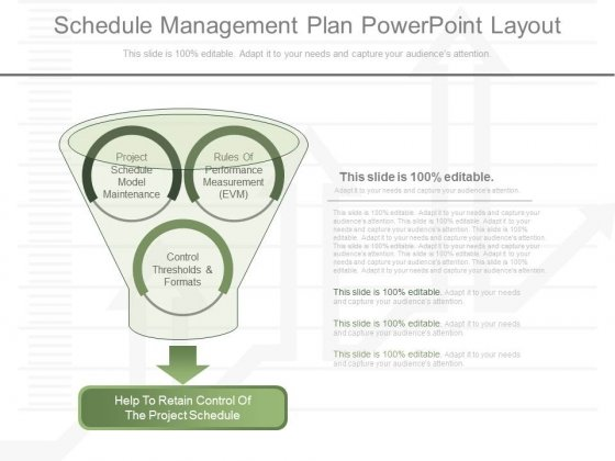 Schedule Management Plan Powerpoint Layout - PowerPoint Templates