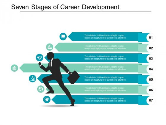 Seven Stages Of Career Development Ppt PowerPoint Presentation