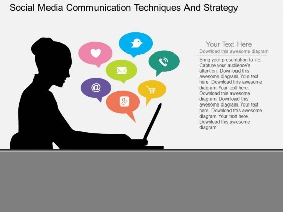 Social Media Marketing PowerPoint templates, backgrounds - strategy powerpoint presentations