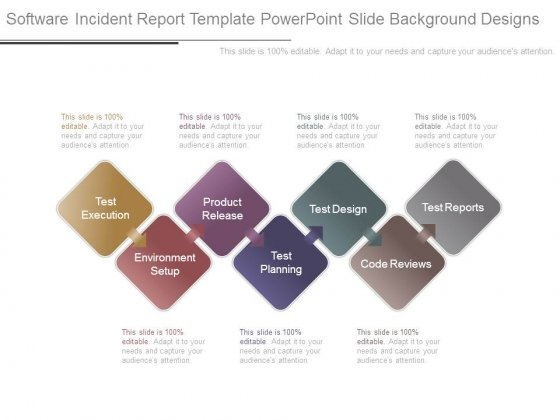 Software Incident Report Template Powerpoint Slide Background - reports designs