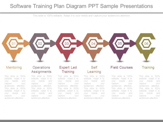 Software Training Plan Diagram Ppt Sample Presentations - PowerPoint - sample training plan