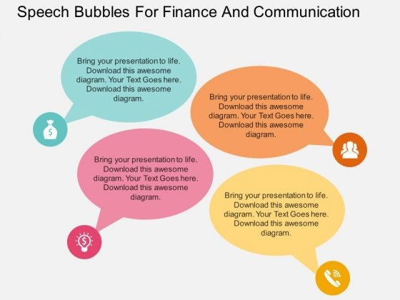 Bubble PowerPoint templates, Slides and Graphics