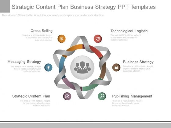 Strategic Content Plan Business Strategy Ppt Templates - PowerPoint