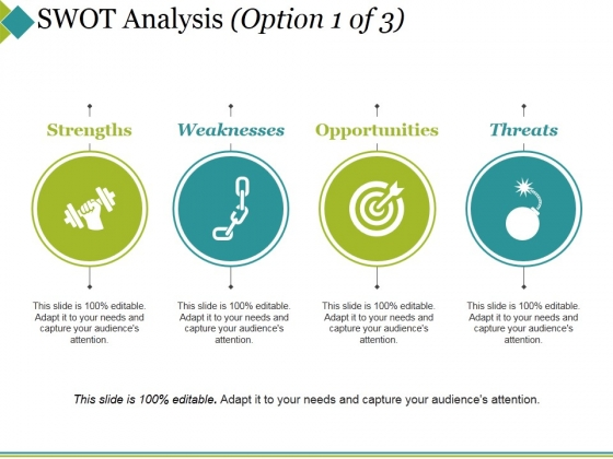 Swot Analysis Template 1 Ppt PowerPoint Presentation Professional