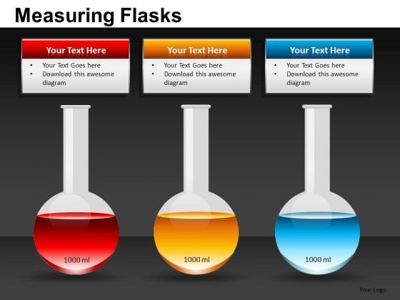 Science Lab Flasks PowerPoint Templates Science Experiment - powerpoint about science