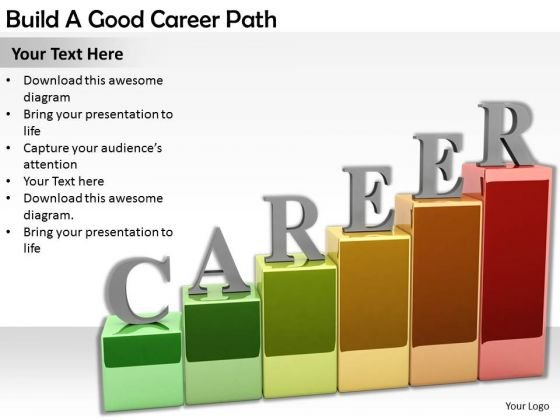 Stock Photo Business Plan Strategy Build Good Career Path Images - how to plan your career path