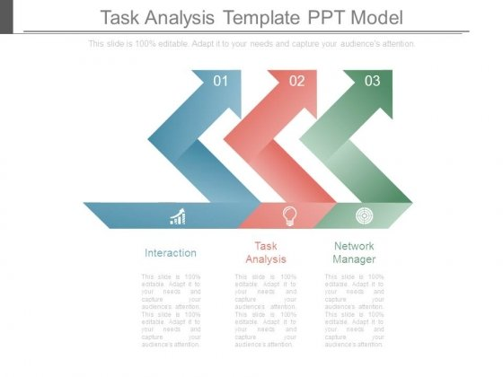 Task Analysis Template Ppt Model - PowerPoint Templates