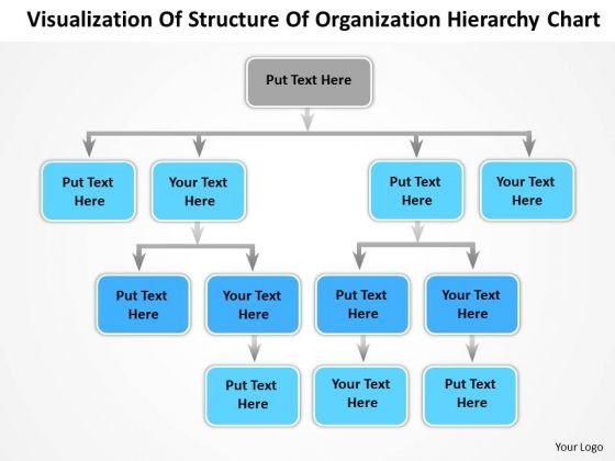Timeline Visualization Of Structure Of Organization Hierarchy Chart