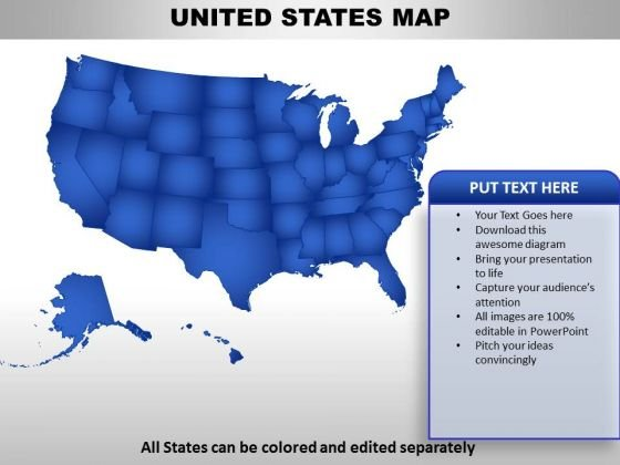 United States Country PowerPoint Maps - PowerPoint Templates
