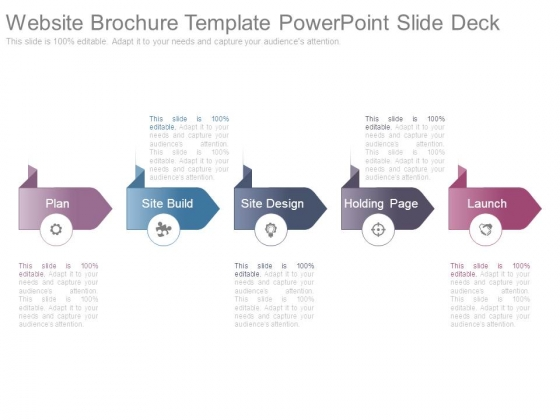 Website Brochure Template Powerpoint Slide Deck - PowerPoint Templates