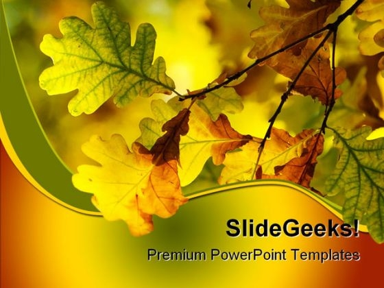 Autumn PowerPoint templates, Slides and Graphics