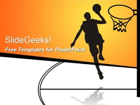 Teamwork PowerPoint templates, Slides and Graphics - basketball powerpoint template
