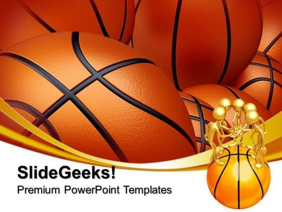 Basketball Background Sports PowerPoint Templates And PowerPoint - basketball powerpoint template