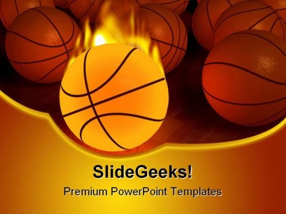 Basketball Sports PowerPoint Themes And PowerPoint Slides 0411 - basketball powerpoint template