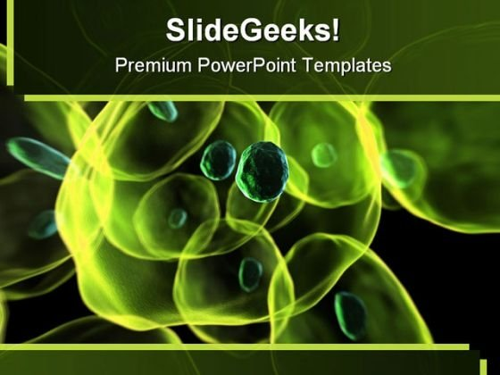 Cells Science PowerPoint Template 0810 - PowerPoint Themes