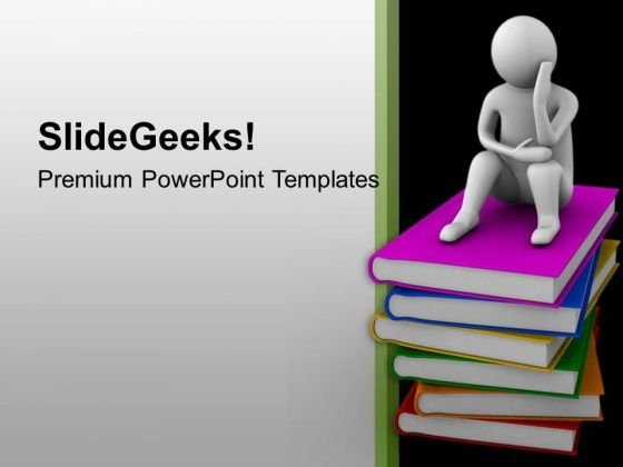 Critical Thinking On Concept Of Education PowerPoint Templates Ppt - nursing powerpoint template