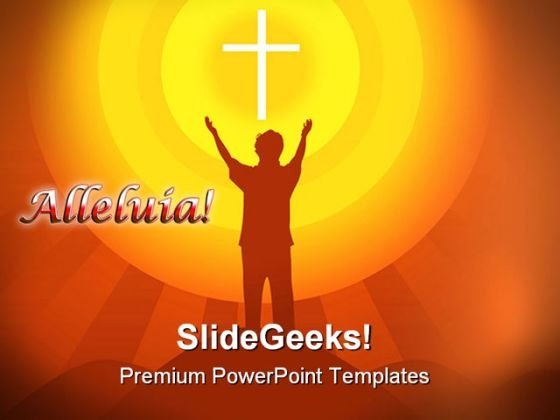 Cross Religion PowerPoint Templates And PowerPoint Backgrounds 0811