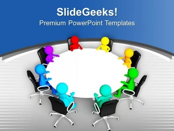 Do The Team Meeting For Business PowerPoint Templates Ppt