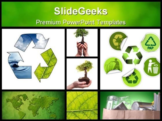 Environmental Collage Nature PowerPoint Backgrounds And Templates - nature powerpoint