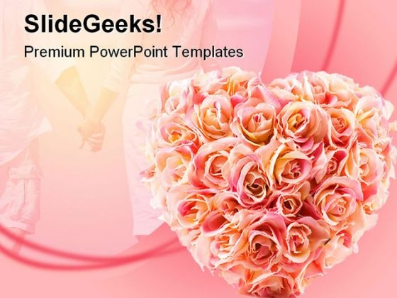 Flowers Wedding PowerPoint Template 0610 - PowerPoint Themes