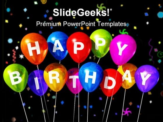 Birthday PowerPoint templates, Slides and Graphics