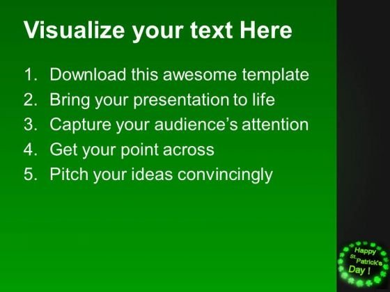 Happy St Patricks Day PowerPoint Templates Ppt Backgrounds For