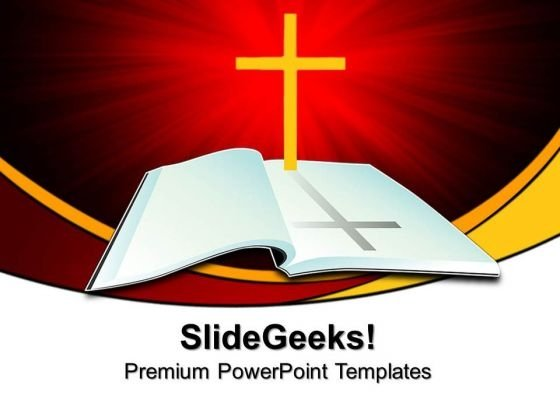 Holy Bible Christian PowerPoint Templates And PowerPoint Themes 0812