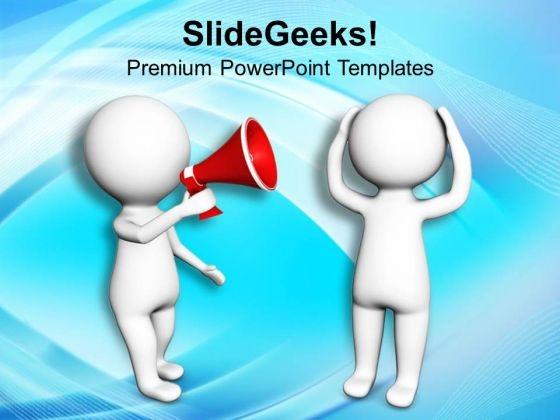 Make An Announcement For Business Rules PowerPoint Templates Ppt