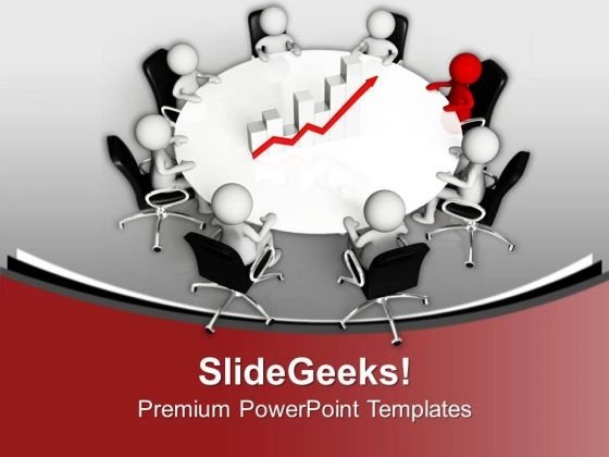 Monthly Business Review Meetings With Team PowerPoint Templates Ppt