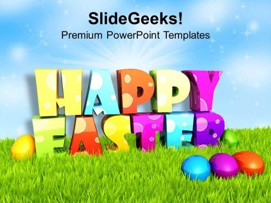 Happy easter PowerPoint templates, Slides and Graphics
