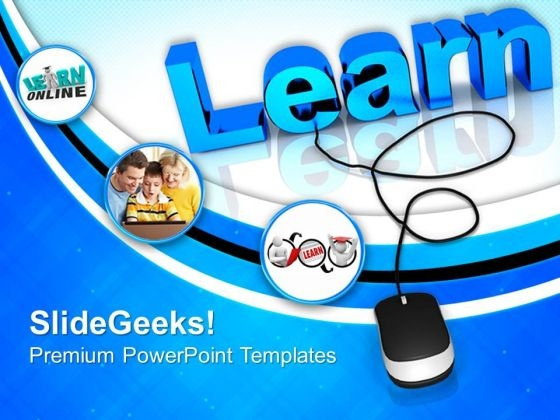 Online Learning PowerPoint Templates And PowerPoint Themes 0912