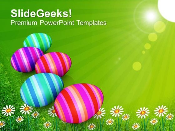 Origin Of Spring Festival Happy Easter Day PowerPoint Templates Ppt