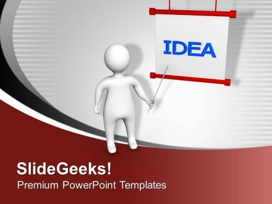 Presenting Creative Ideas For New Business PowerPoint Templates Ppt