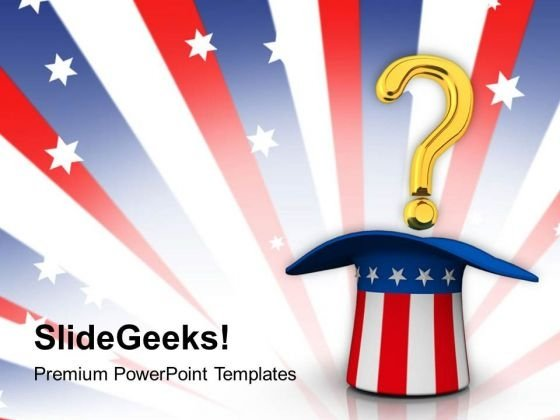 Query On American Problem PowerPoint Templates Ppt Backgrounds For