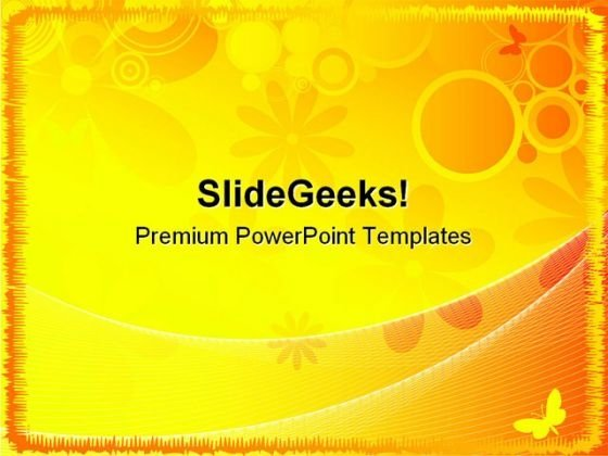 Summer Abstract Background PowerPoint Templates And PowerPoint