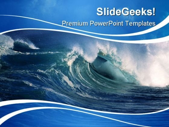 Ocean PowerPoint templates, Slides and Graphics