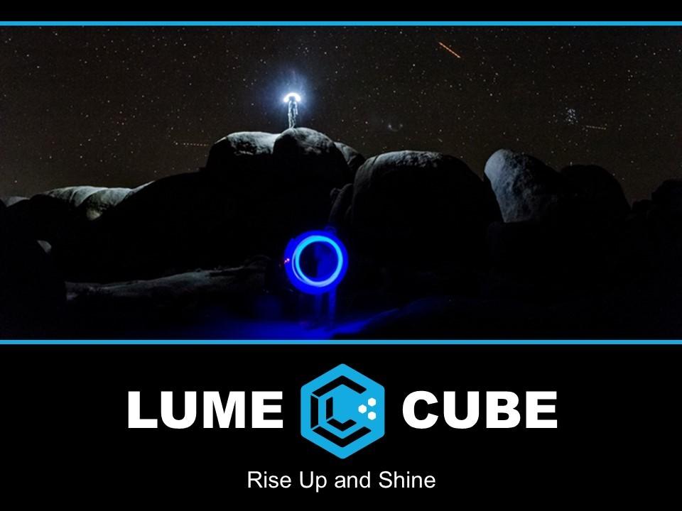 Lume Cube Powerpoint SlideGenius Presentation Experts - presentation experts