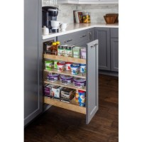 Base Cabinet No Wiggle Pull Out Spice Rack